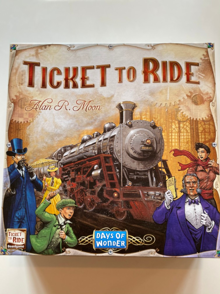 Ticket to Ride 🚂 🌎 💥