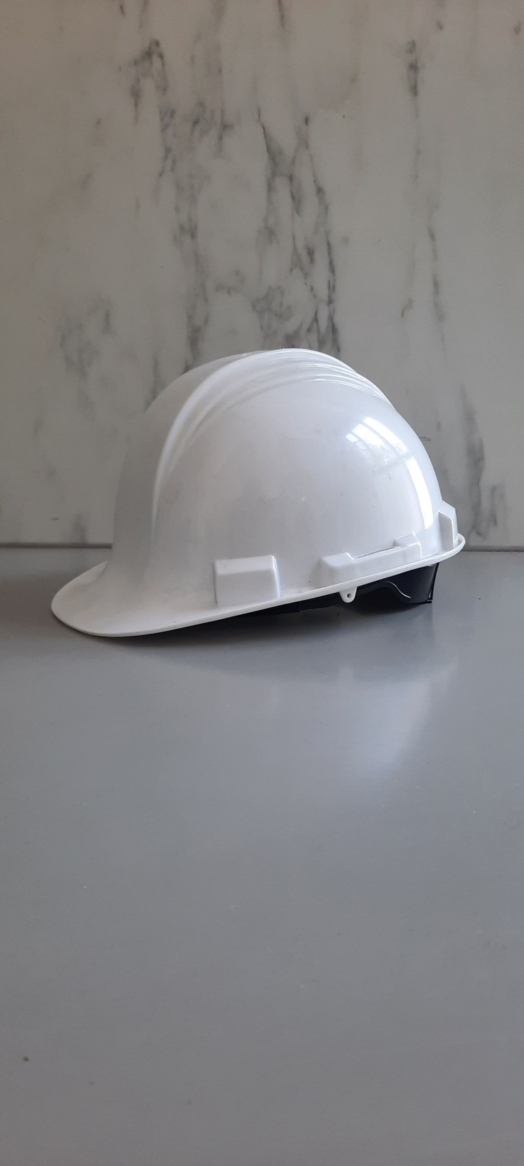 Witte bouwhelm veiligheidshelm North - one size