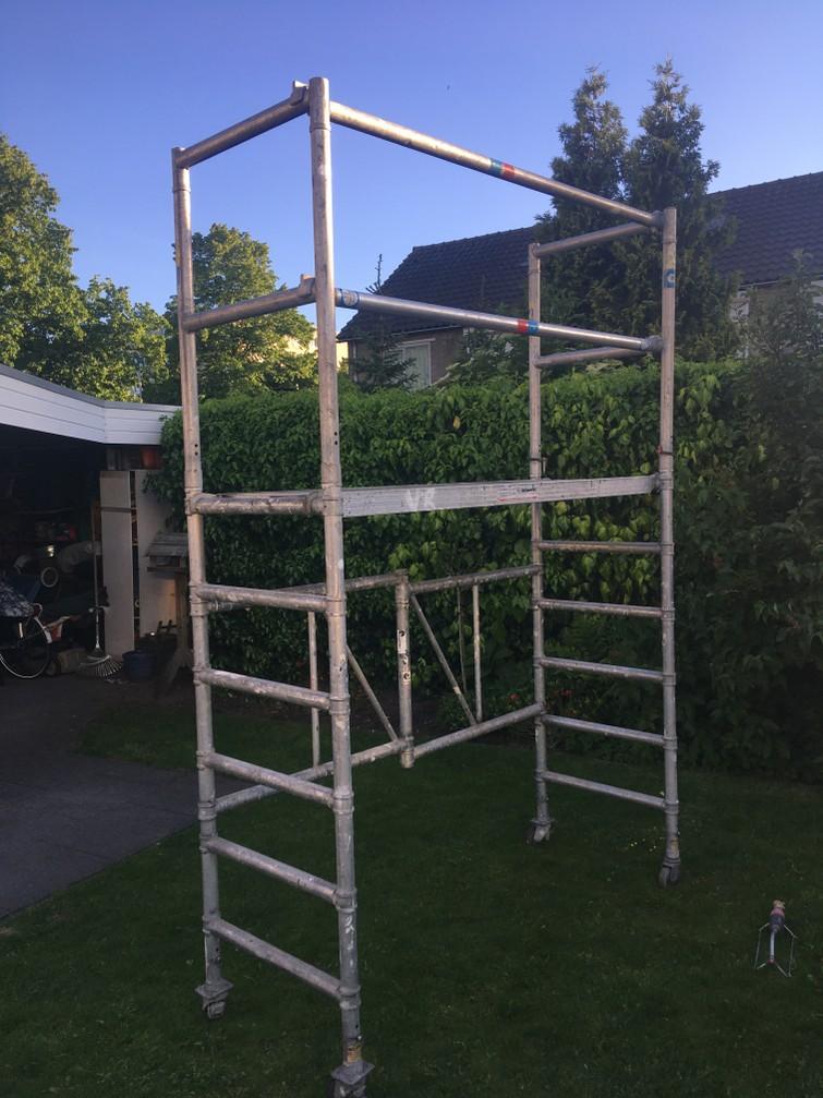 Kamersteiger 3.8 meter werkhoogte