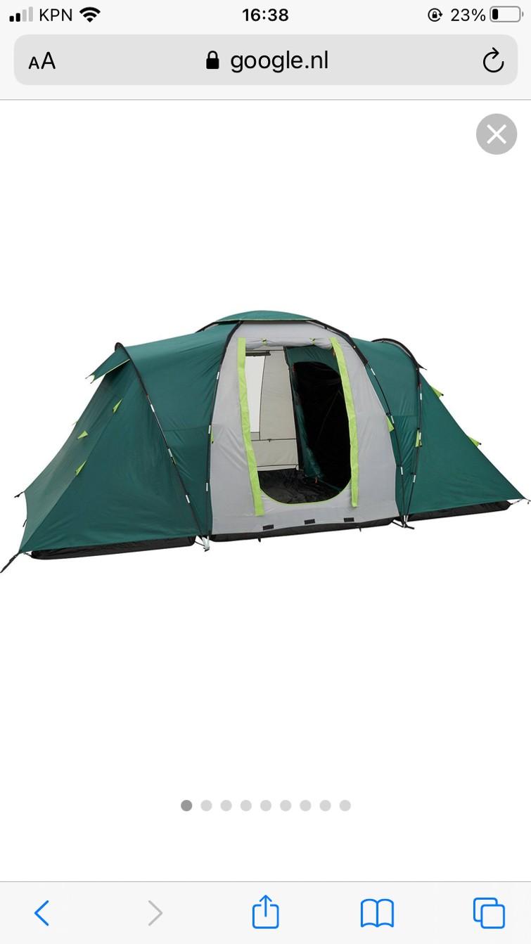 Tent kampeertent Coleman 4+ personen