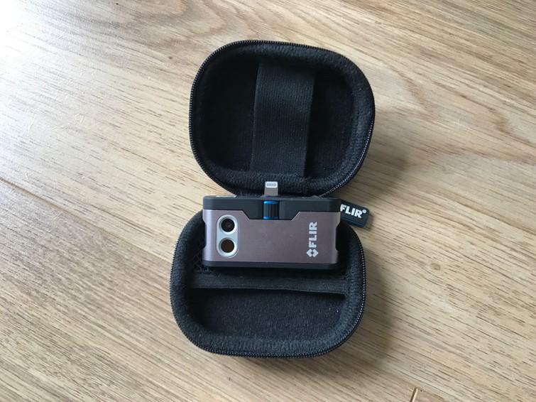 Flir iPhone warmtebeeldcamera thermal infrared camera