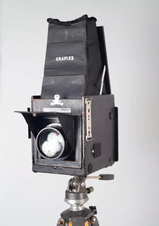 Graflex super d met holders en eventueel lichtmeter
