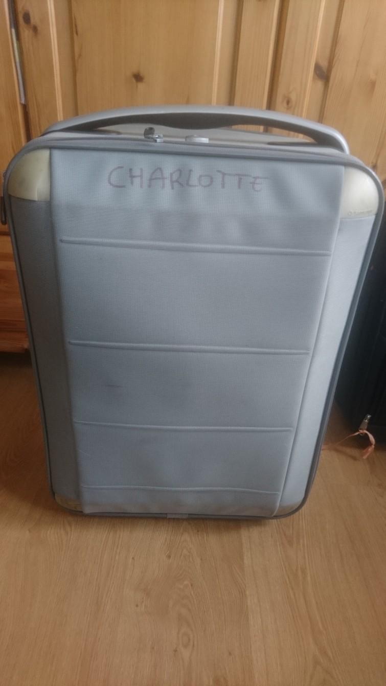kofferGrote reiskoffer op wielen