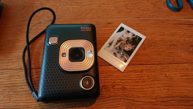 Instax mini LiPlay (polaroid & digitaal ineen)