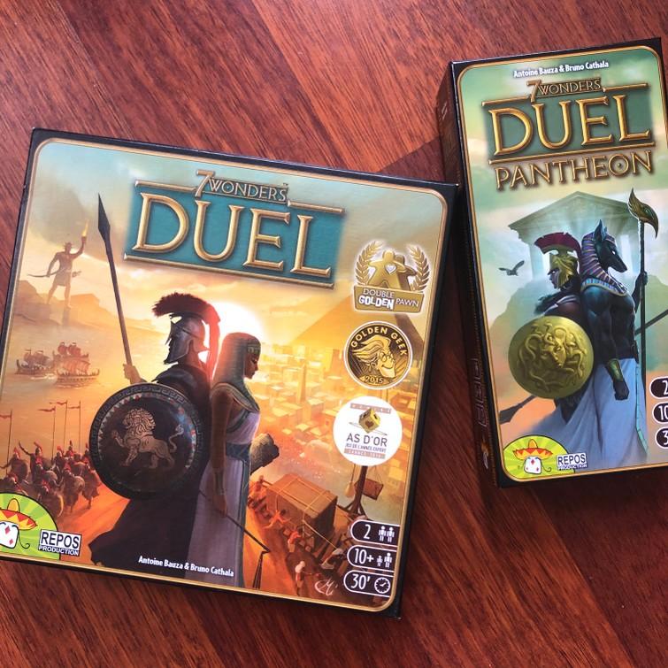 7 Wonders Duel + Uitbreiding | Spel | Spellen