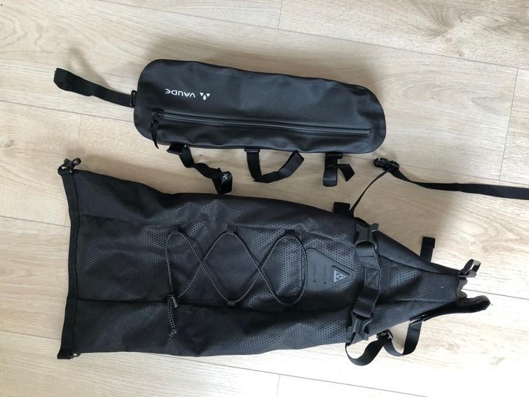 Bike packing tassen
