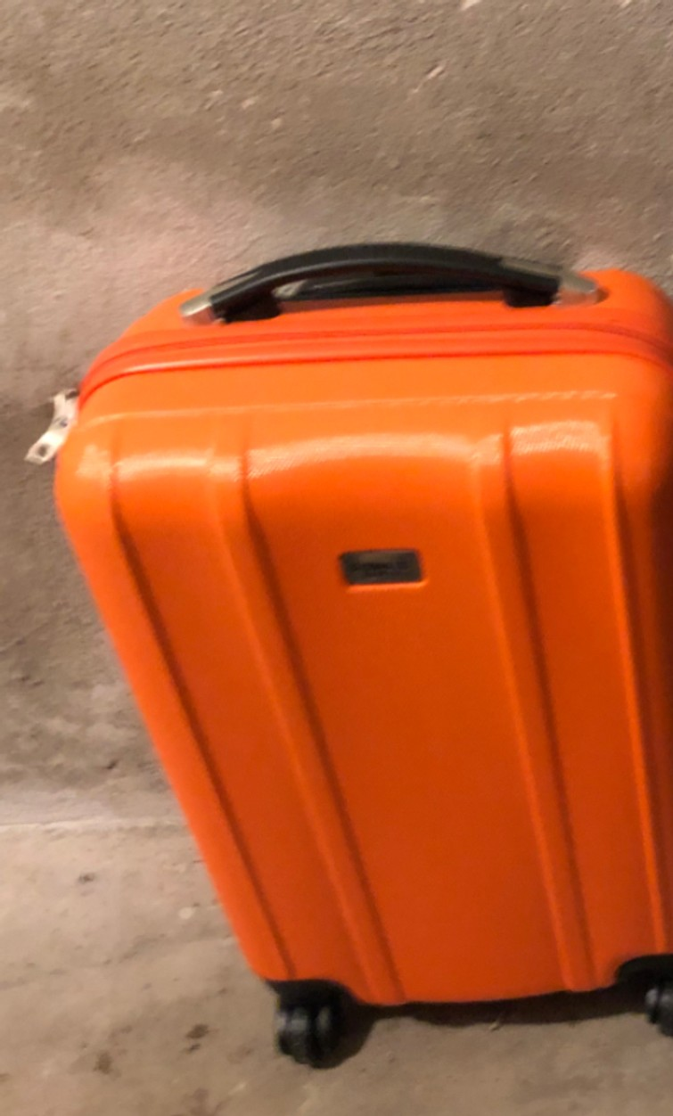 Trolley oranje