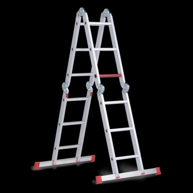 Vouwladder 4x3 - ladder 4.3M - trap