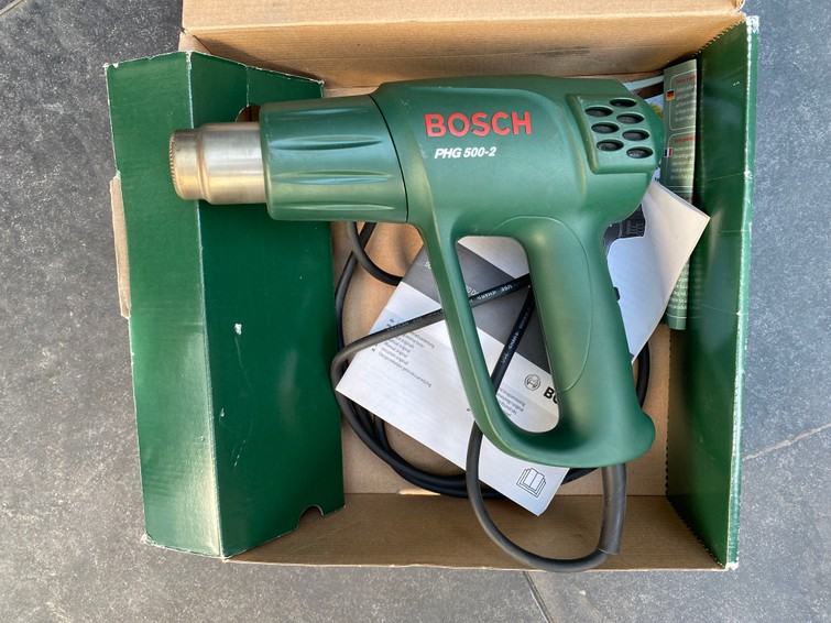 Bosch heteluchtpistool PHG 500-2