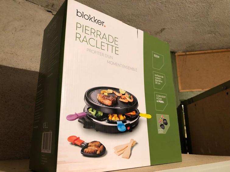 Raclette set 6 personen