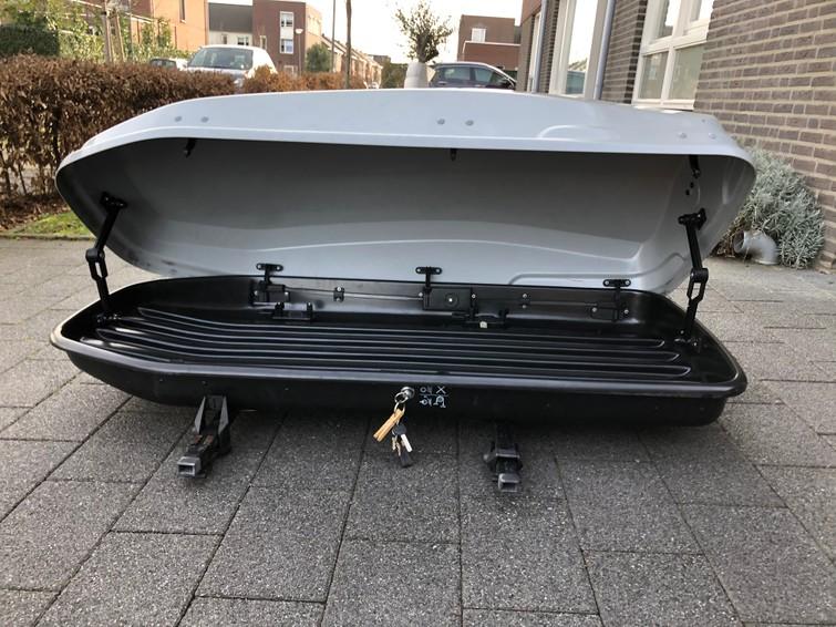 Dakkoffer 300l met optioneel ook bagage wagen