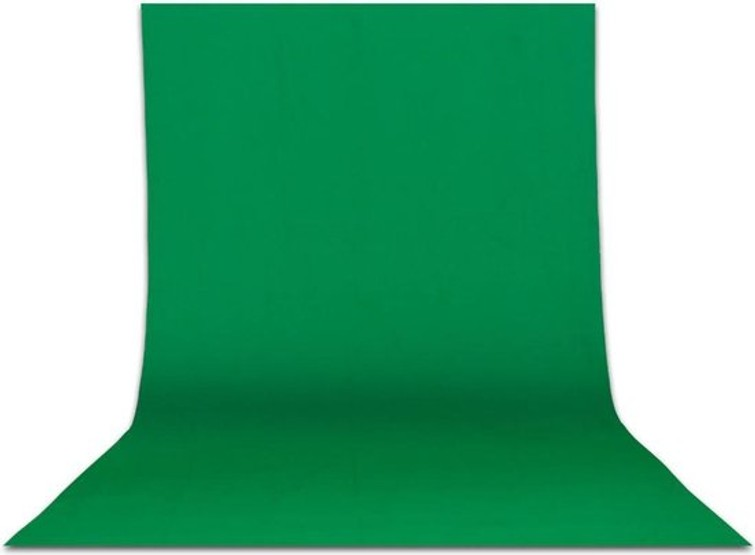 Green screen / greenscreen / groen scherm voor fotograferen & filmen