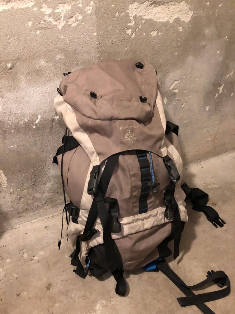 Backpacker rugzak