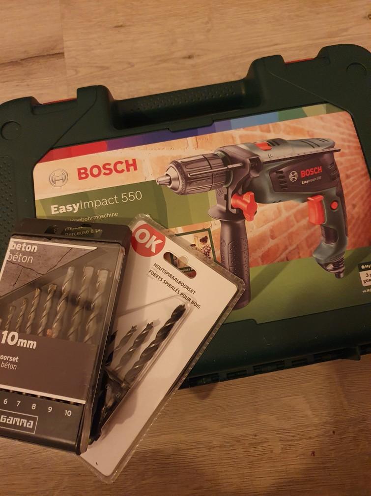 Klopboormachine Bosch Easy Impact 550