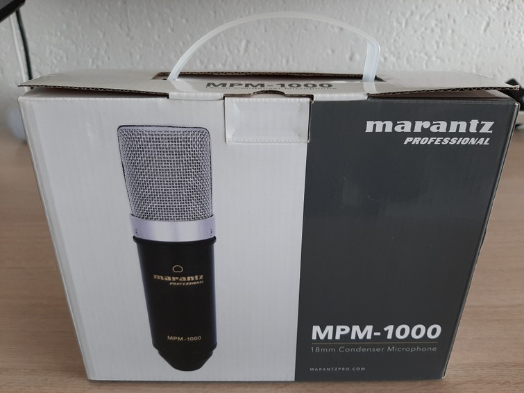 Marantz MPM-1000 Prof condensator Mic