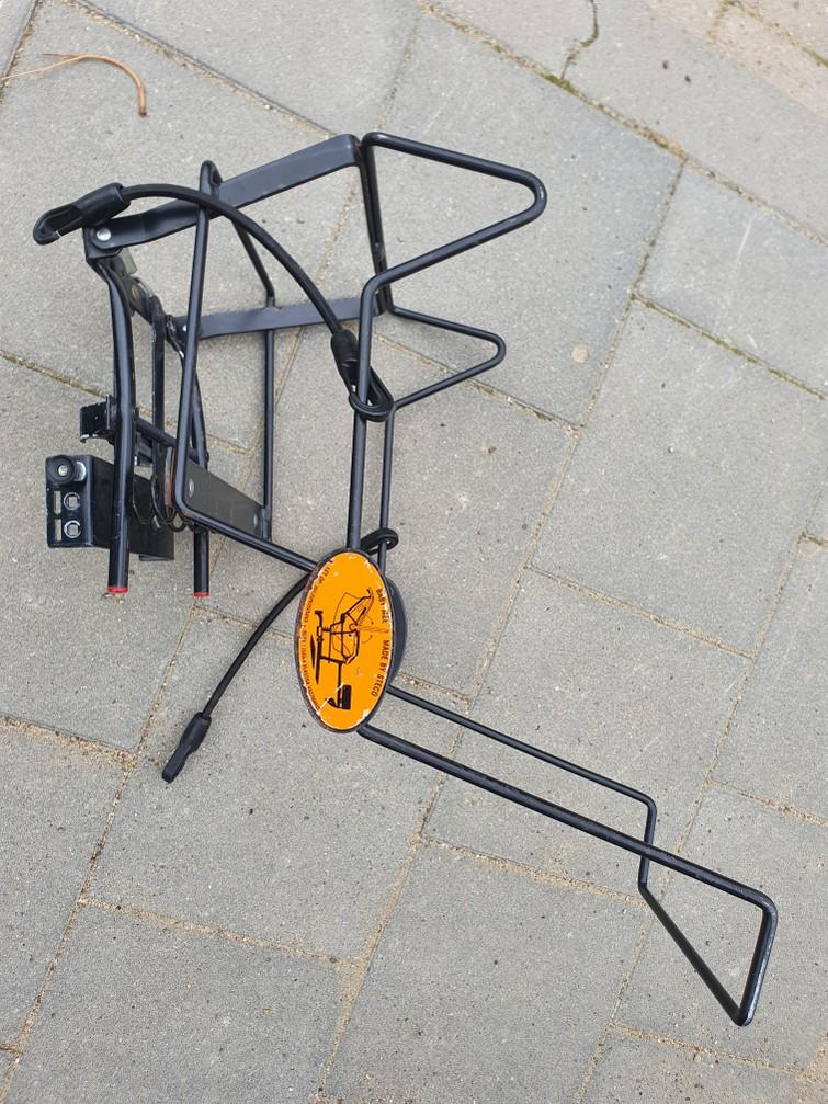 Maxicosidrager voor de fiets