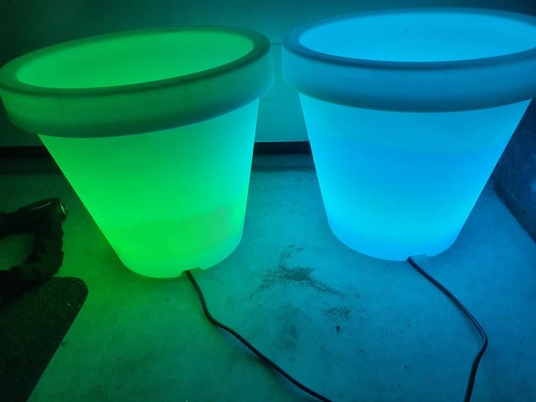 Drank koeler met LED verlichting (feestverlichting)