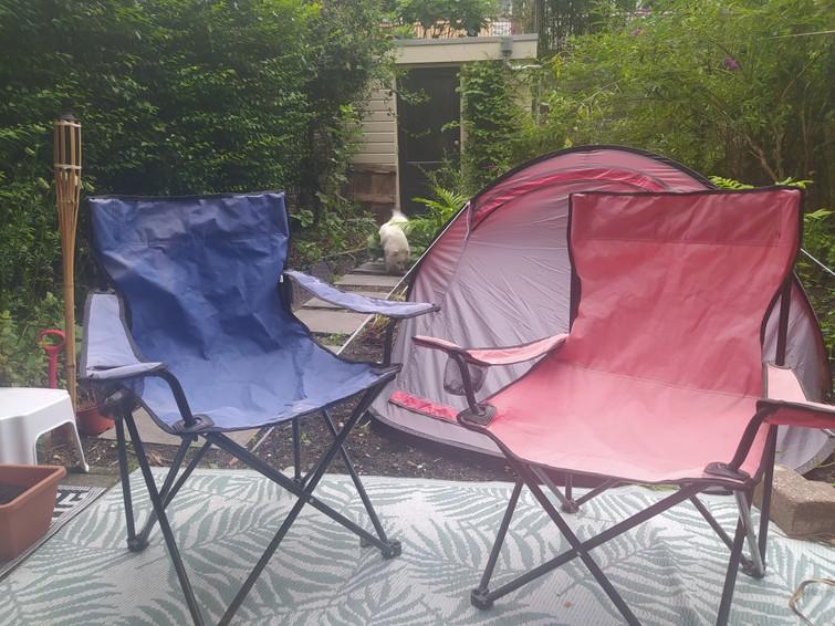 Campeerstoeltje 2x