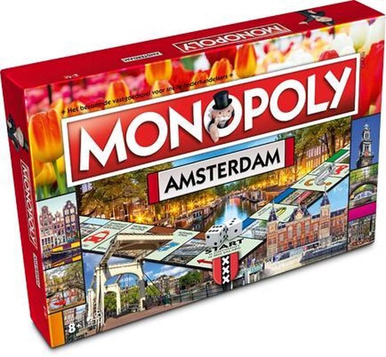 Monopoly Amsterdam Bordspel