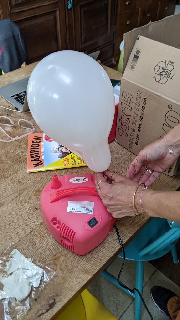 Ballonpomp ballonopblazer