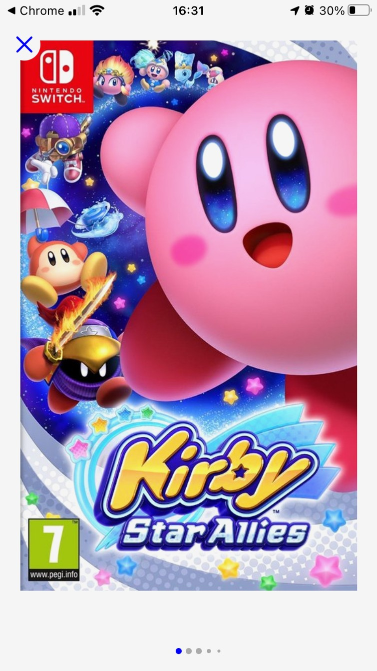 Kirby star allies - Switch
