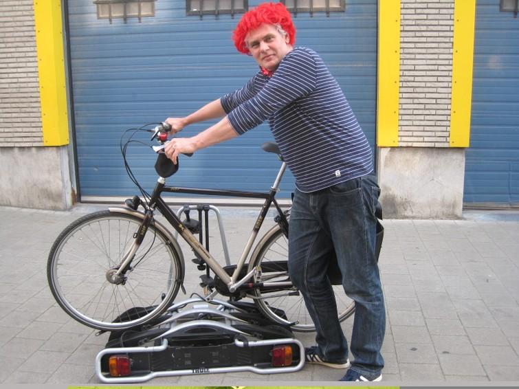 Thule fietsendrager voor auto met trekhaak (tot 3 fietsen)