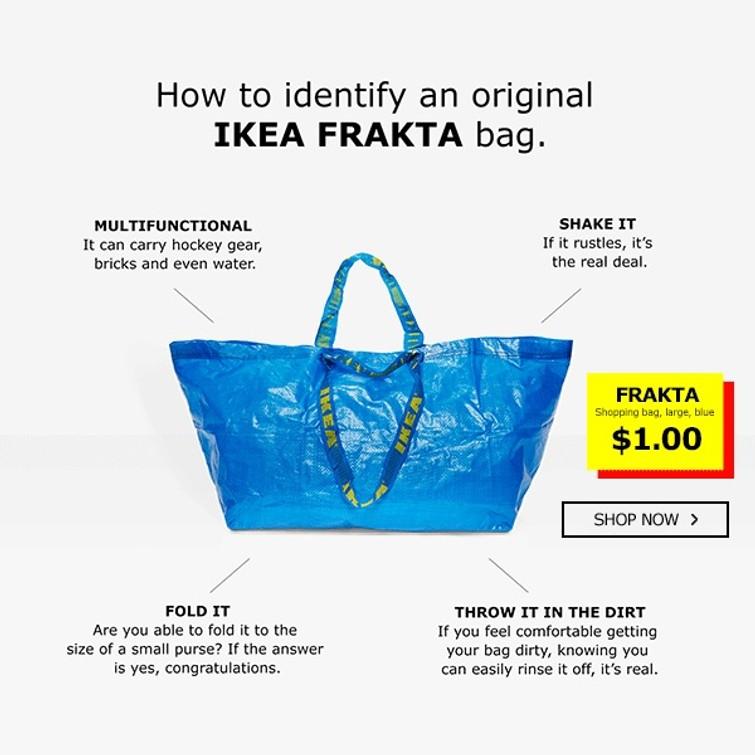 IKEA tas