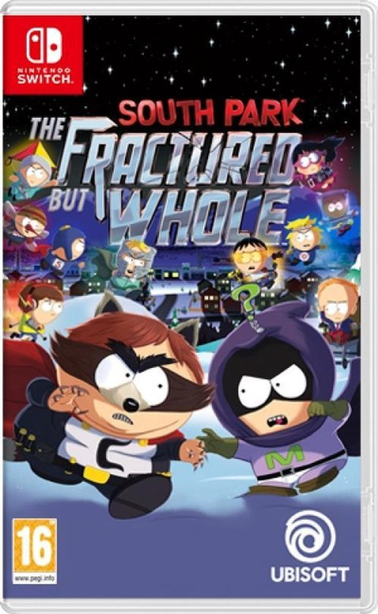 South Park The Fracture but Whole