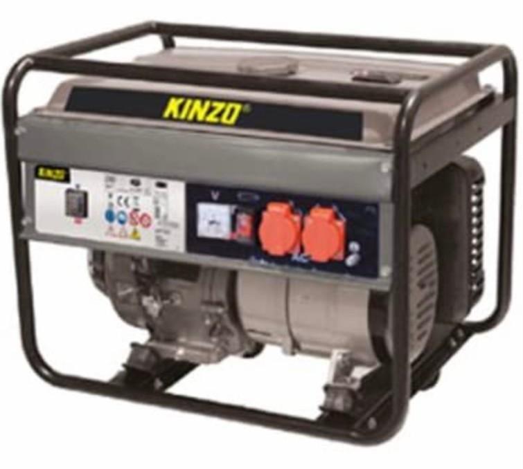 Kinzo 2.000watt aggregaat generator met volle tank