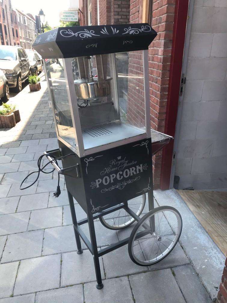 Ouderwets popcorn karretje