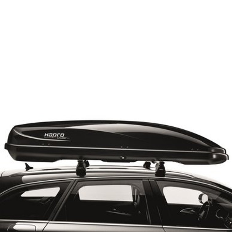 Dakkoffer: Hapro Cruiser 10.8 Briljant Black