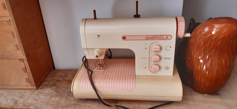Oude naaimachines kunstof