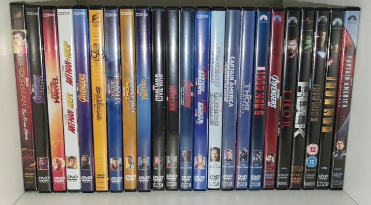 Superhelden DVDs o.a. Marvel, DC, Avengers, Xmen