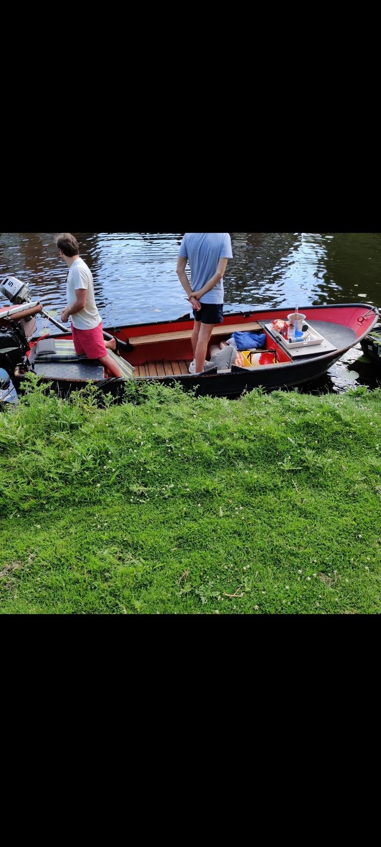 Sloep / boot voor max. 8 personen