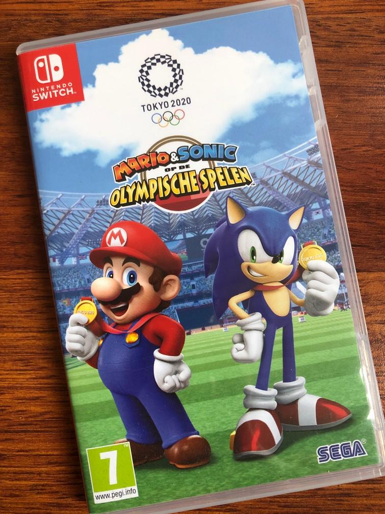 Nintendo Switch Game Olympische Spelen Tokyo 2020