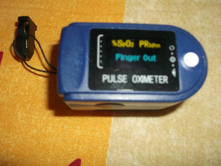 Saturatie meter en hartslagmeter in 1