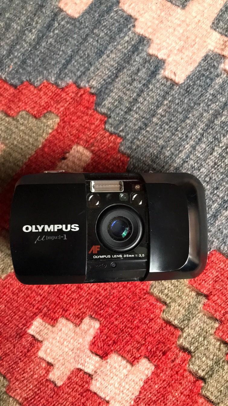 Analoge camera Olympus MJU I