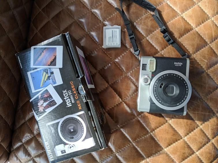 Instax mini 90 polaroidcamera