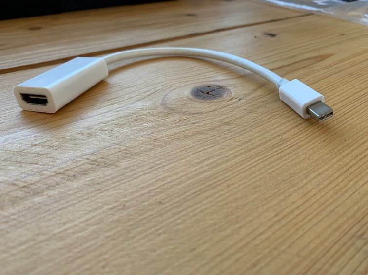 DisplayPort naar HDMI adapter Apple Macbook