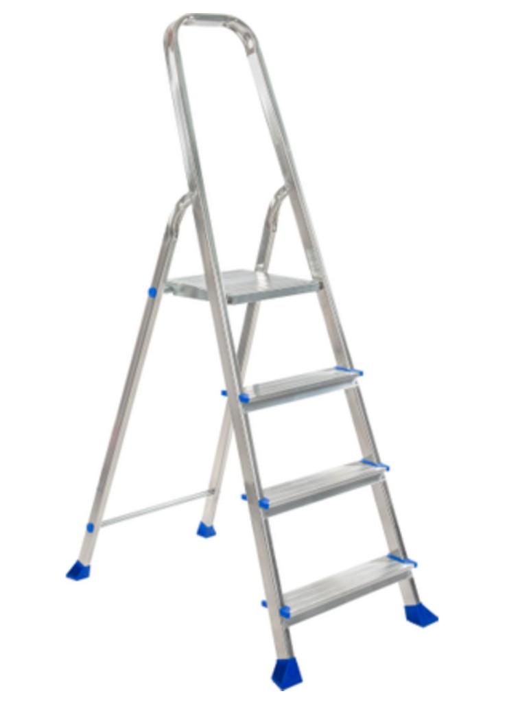 Escalo huishoudtrap Easystep 4-treeds