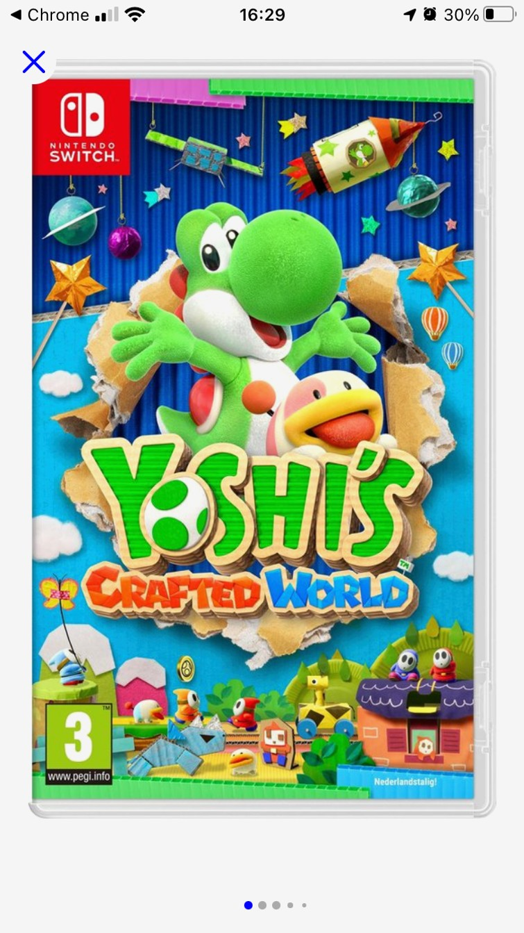 Ulshi's crafted world - Switch