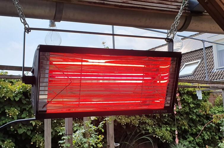 Infrarood warmte lamp