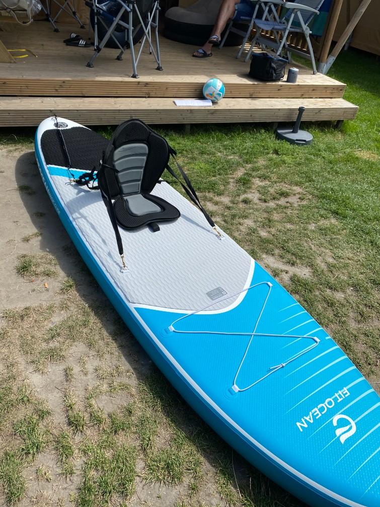 Opblaasbaar supboard met kayak accessoires