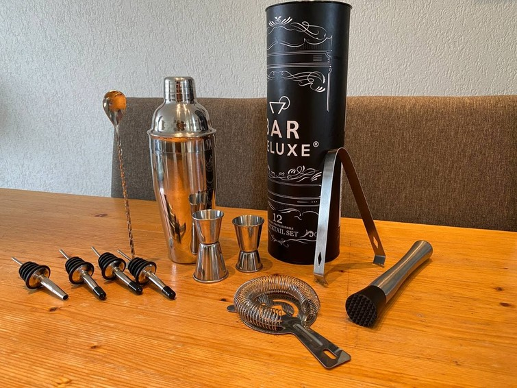 Cocktail set - Professionele shaker - 12 delige