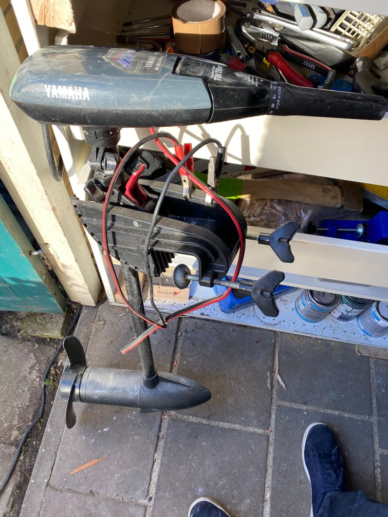 Fluistermotor