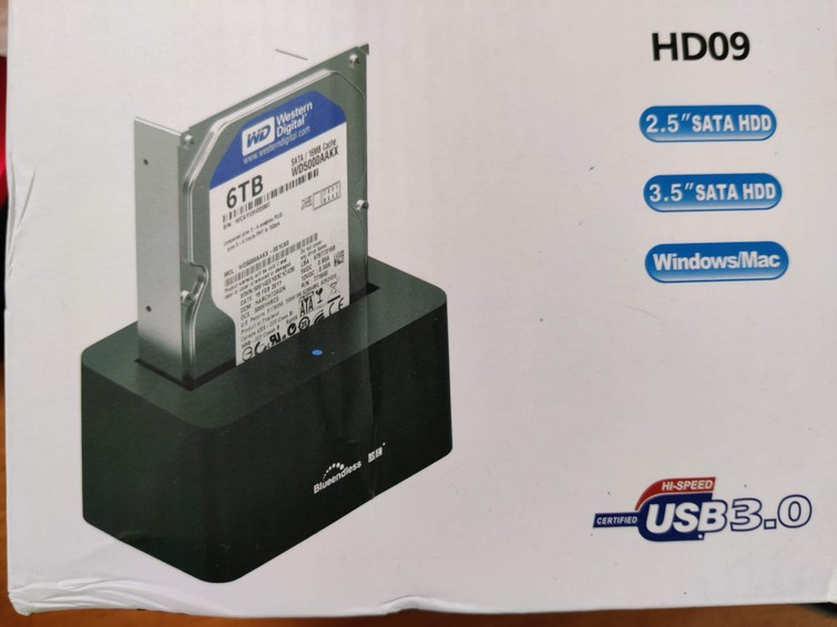 SSD/HD enclosure