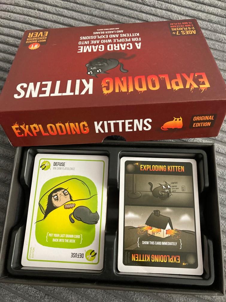 Exploding Kittens Original Edition - Engelstalig Kaartspel