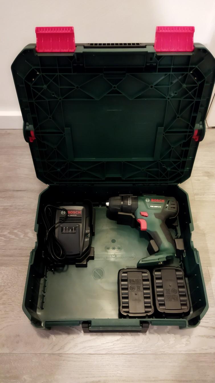 Accuboor/klopboor/schroefmachine Bosch PSB 1800 LI-2