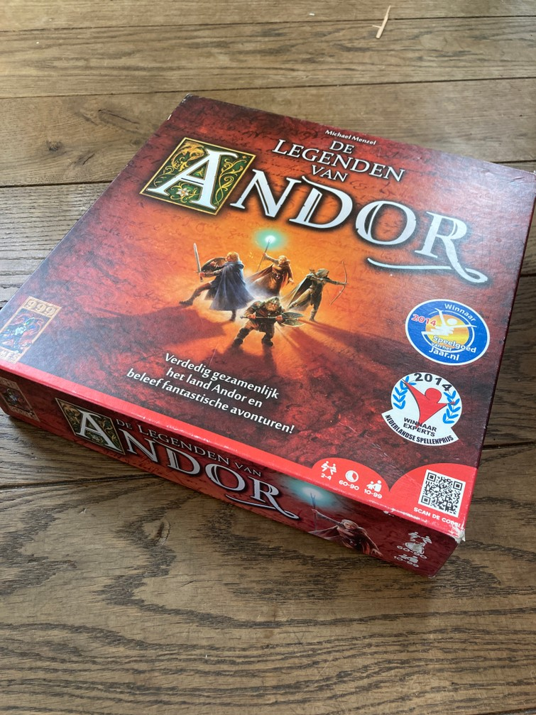 Familiespel: De Legende van Andor