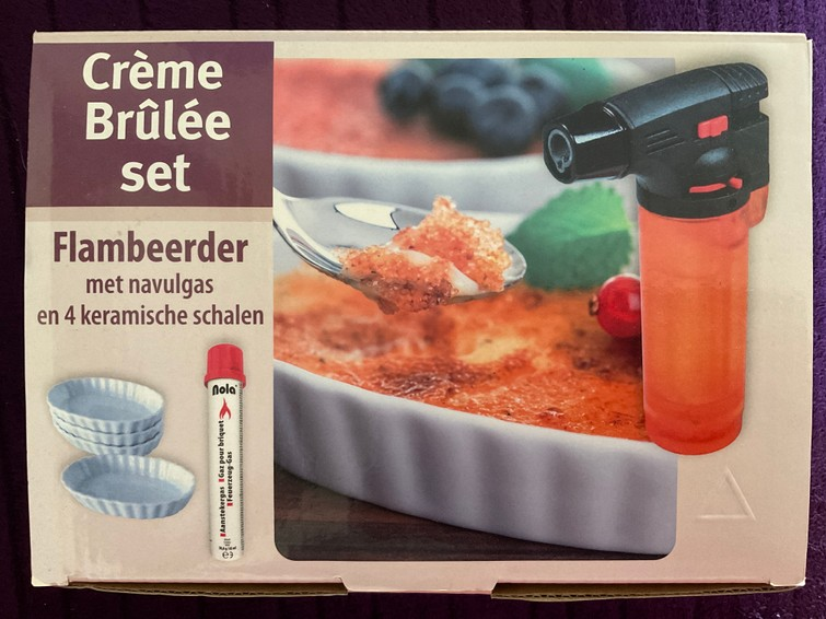 Crème brûlée set